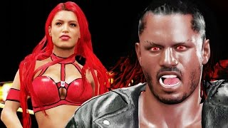 wwe 2k16 my career gameplay ep 5 new girlfriend ending a heated rivalry