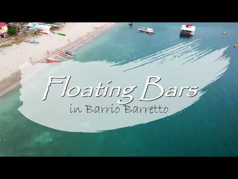 Floating Bars in  Barretto Subic Bay Philippines