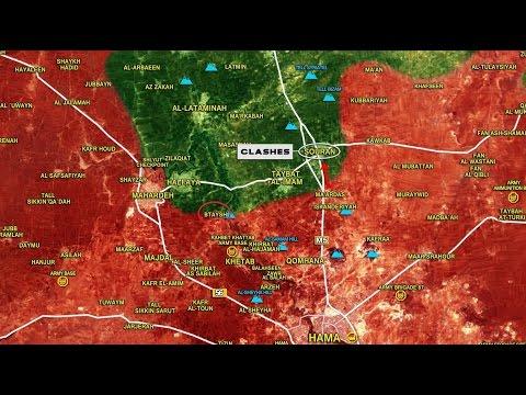 Ejército de siria comienza el asalto  al norte de Hama