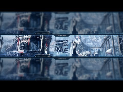 Flow Graphics | SoaR Rae Banner | Cinema 4D + Photoshop CC