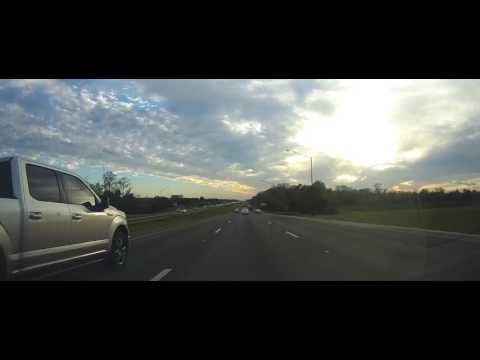 Driving from Disney World to Tampa, Florida on I4