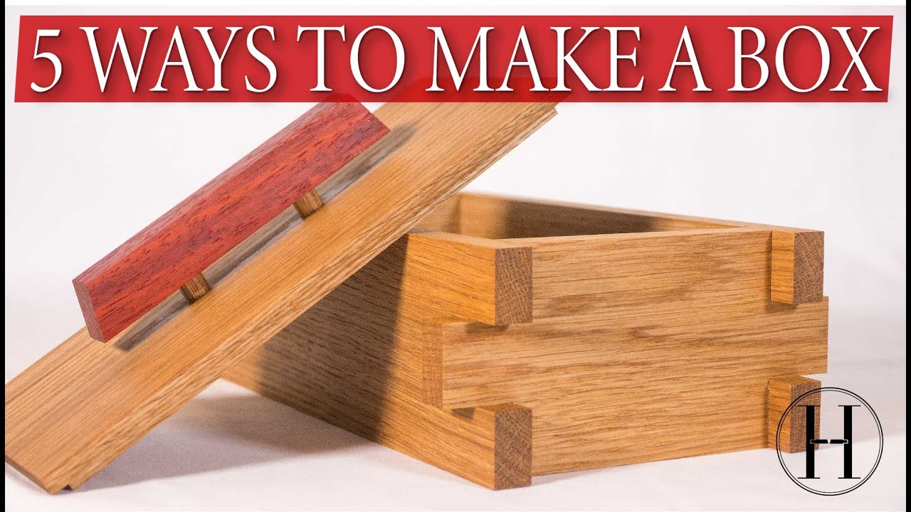 How to Make 5 Small Box Ideas - Scrap Wood Project