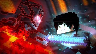 Minecraft Dungeons Epic Fight!  - The Redstone (Minecraft Animation) | BPS Redstone Collab
