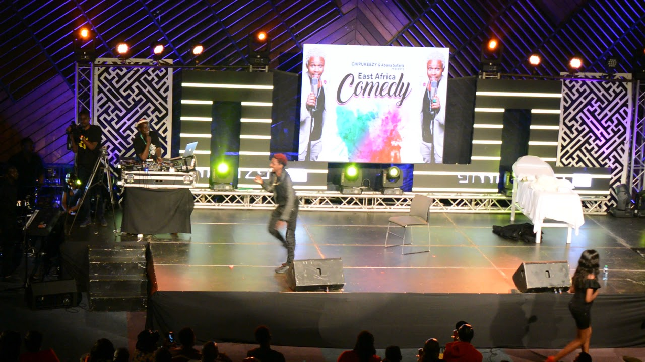 ERIC OMONDI PERFOMANCE AT EAST AFRICAN COMEDY CHIPUKEEZY