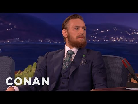 Conor McGregor: I Will Destroy Chad Mendes & Floyd Mayweather  - CONAN on TBS