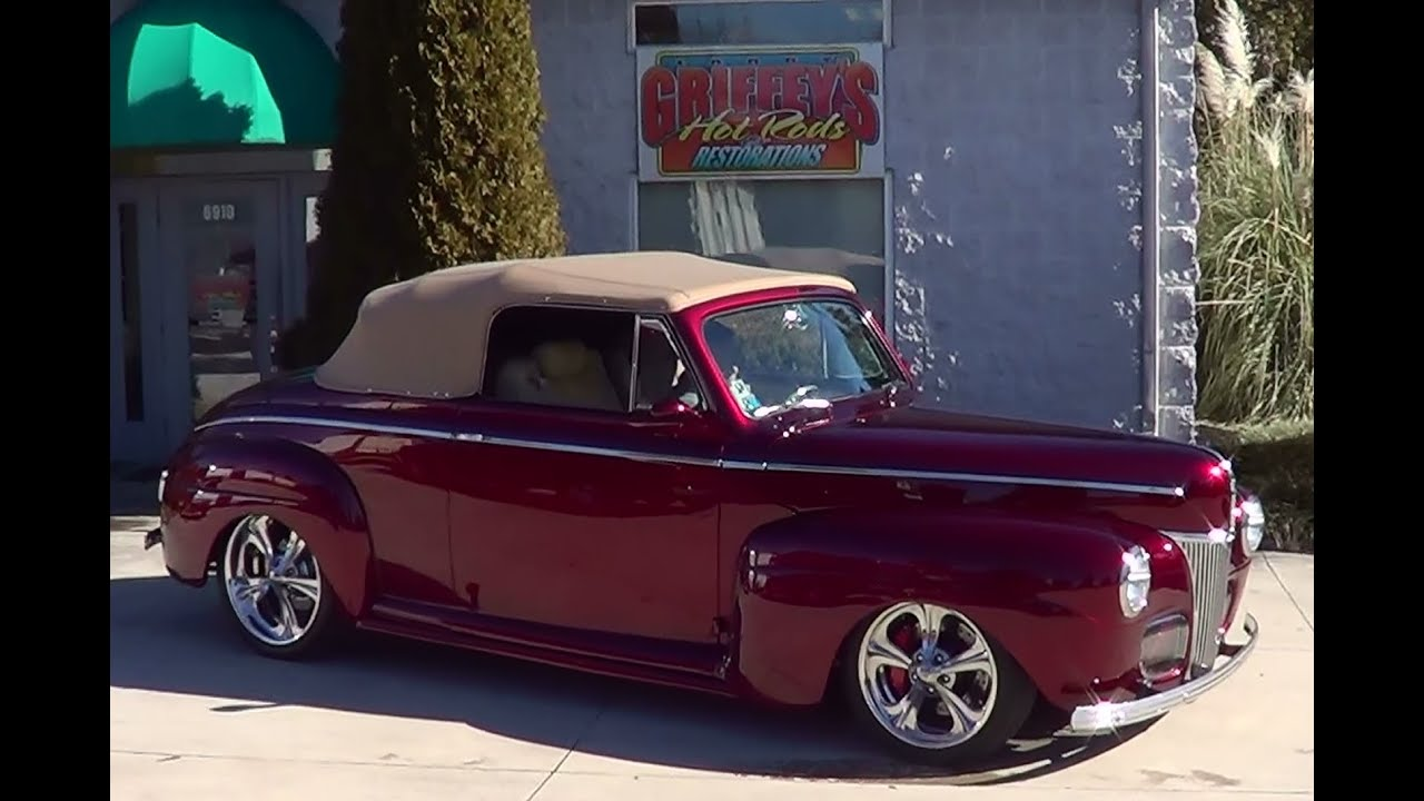1941 Ford Street Rod - YouTube