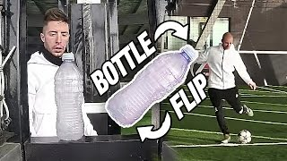WATER BOTTLE FLIP vs BALL Trick Shot - Colpi da Capogiro
