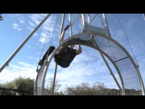 THE WHEEL OF STEEL (aka THE WHEEL OF DEATH) - BELLO NOCK - THE ULTIMATE STUNT