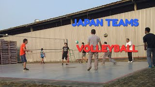VOLLEYBALL JAPAN TEAMS PREPARATION