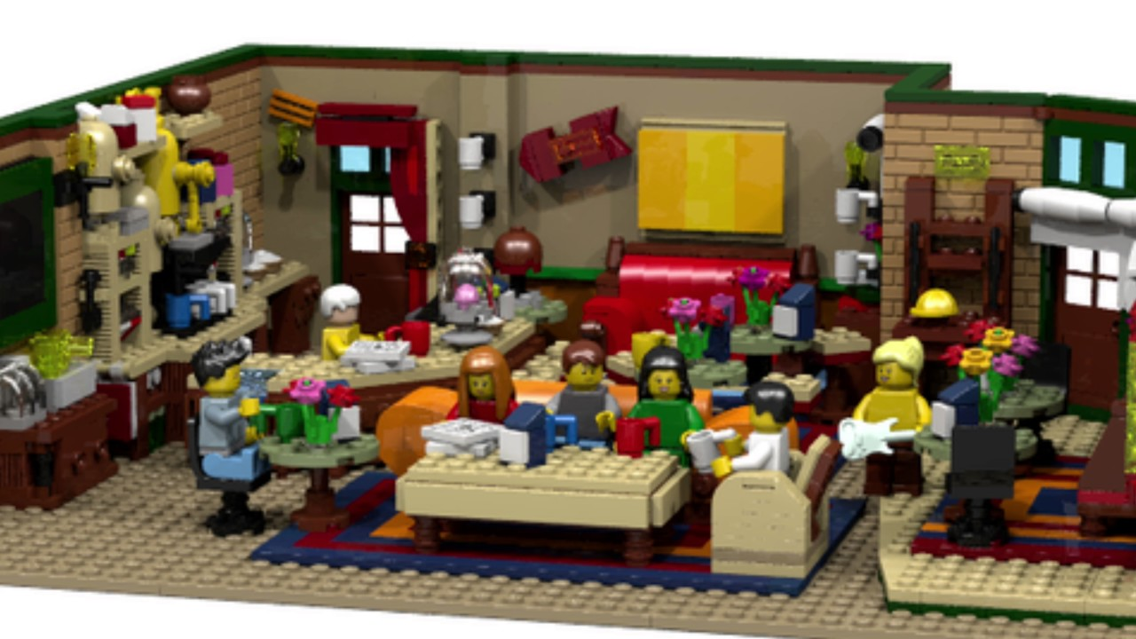 The Lego Central Perk Coffee Of Friends In Lego Ideas