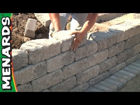 Retaining Wall - How To Build ...