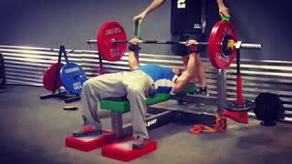 EccO Arms and Bench Boosters for Bench Press