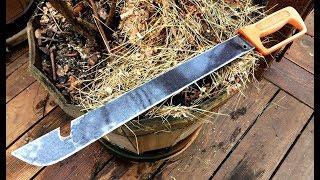 How to Sharpen a Machete