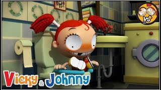 Vicky & Johnny | Episode 82 | CHAMBER POT | Full Episode for Kids | 2 MIN