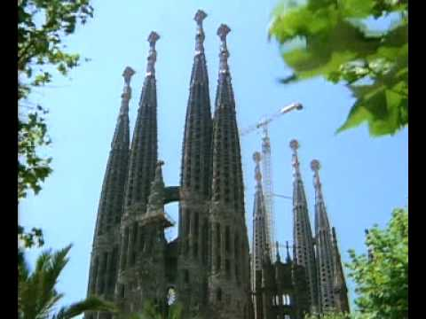 Gaudi Sagrada Familia Unfinished Church Barcelona Youtube