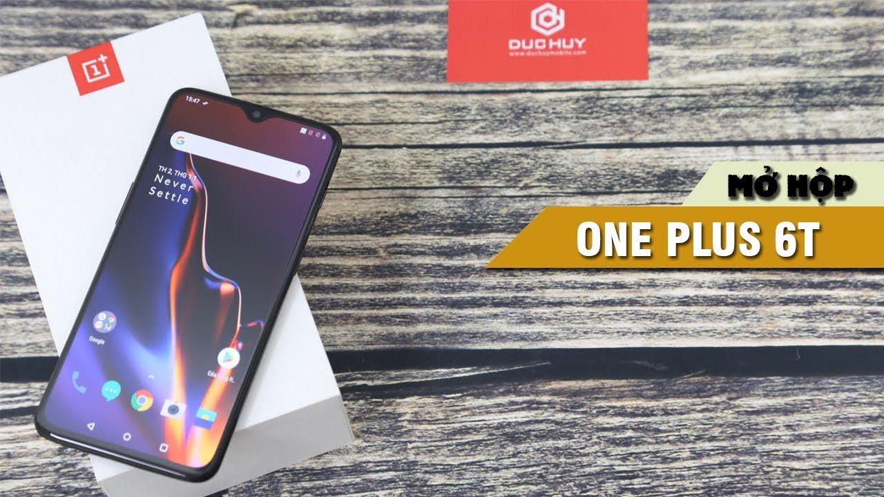 Đập hộp OnePlus 6T xách tay tại Đức Huy Mobile