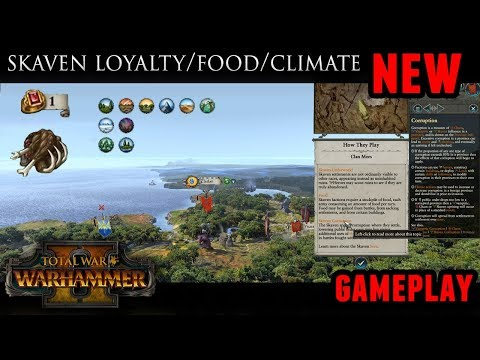 Total War: Warhammer 2 - Skaven Campaign Mechanics and Gameplay (Underworld, Food, Loyalty & More!)