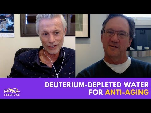 Deuterium-depleted water as anti-aging approach? Dr. Thomas Cowan and James Strole //RAADfest