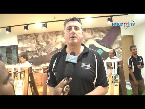Laver & Wood debuts in India Hyderabad | James Laver