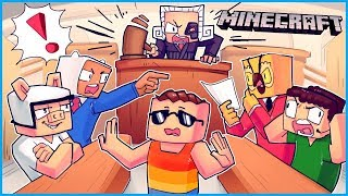 This is the dumbest trial in the history of the people's court... Minecraft ep 14