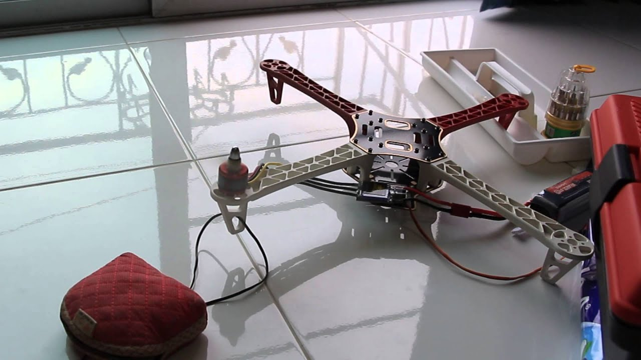 Quadcopter arduino uno r esc test speed youtube