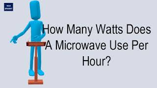 How Many Watts Does A Microwave Use Per