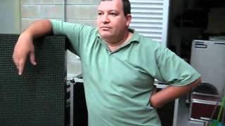 Banda Valetes - Produção turnê 2011