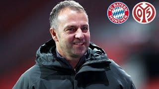 🎙️ Starkes Comeback! Pressekonferenz mit Hansi Flick | FC Bayern - Mainz 05