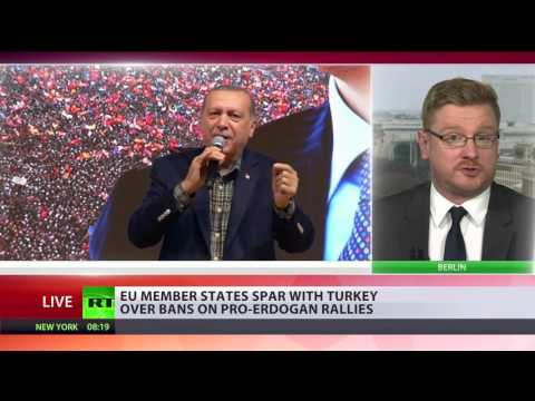 Erdogan compares German ban on rallies to Nazi actions