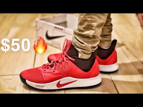 Nike PG 3 University Red Unboxing