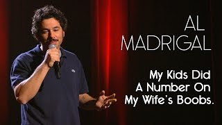 This Video Is Unavailable.     My Kids Did A Number On My Wifes's Boobs  —  Al Madrigal