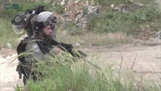 مصر العربية | إصابات بمواجهات مع الجيش الإسرائيلي برام الله