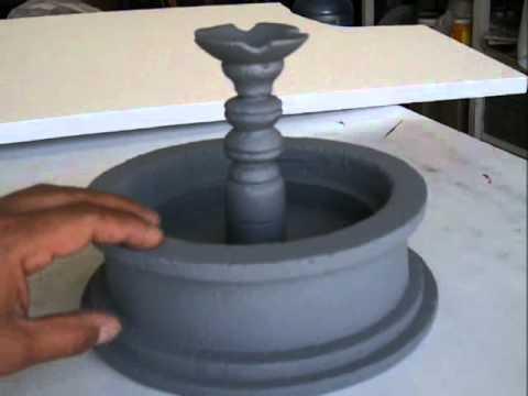 Tutorial como hacer una fuente de unicel para stopmotion y for Como construir piletas de material