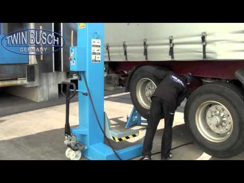 LKW Hebebühne Radgreifanlage 45 t von Twin Busch ® Germany - TW 7500-6