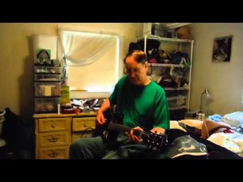 Slide Guitar Tutorial - Open A Minor Tuning - 10/19/2013