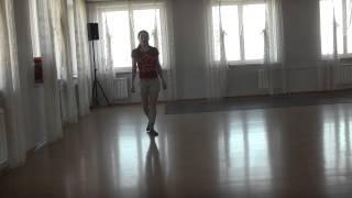 Основные шаги ирландского танца(Базовые шаги (элементы шагов) ирландского танца медленно с кратким объяснением без музыки и под музыку:..., 2014-04-11T14:40:20.000Z)