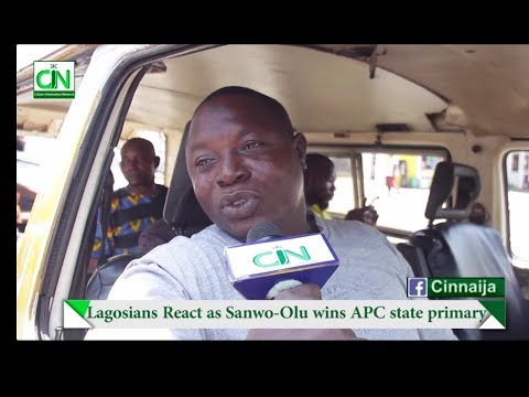 LAGOSIANS REACT AS SANWO-OLU WINS APC STATE PRIMARY