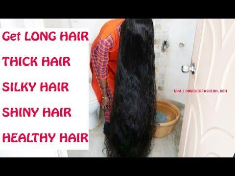 HOMEMADE HAIR WASH/SHAMPOO-GET LONG HAIR,THICK HAIR, SHINY HAIR, HEALTHY HAIR AT HOME