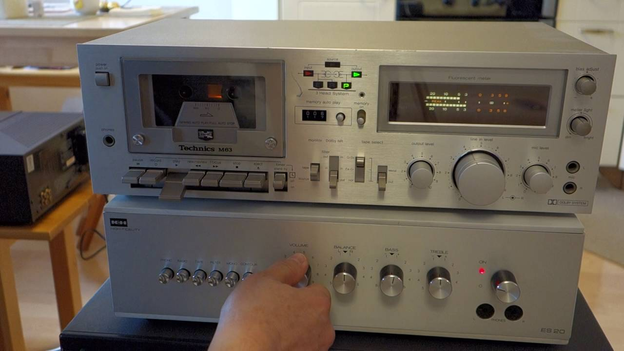 Technics RS-M63 - YouTube