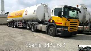 Download Shell's tanker Scania p420 6x4 (hd)