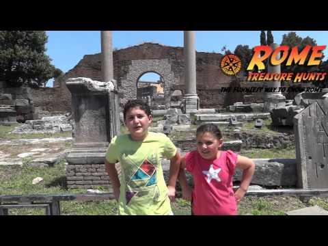 Colosseum & Ancient Rome Treasure Hunt - Rome Treasure Hunt
