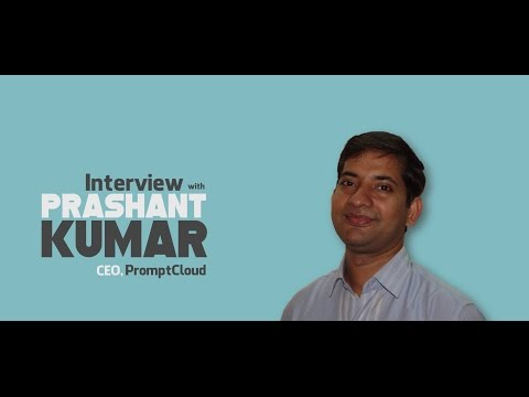 Interview with Prashant Kumar, CEO, PromptCloud