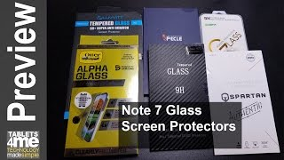 Six Samsung Galaxy Note Glass Screen Protector reviewed Choetech, Otterbox, Luvvite, etc (Updated)