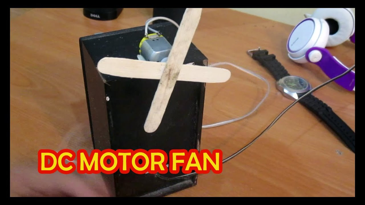 make a simple dc motor fan jack gone mad 1 youtube