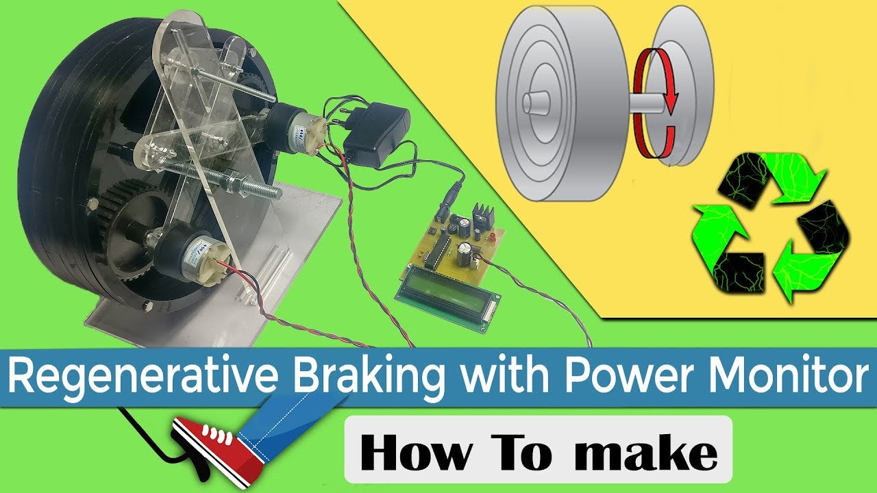 Regenerative Braking with Power Monitor Project
