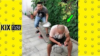 Watch keep laugh EP385 ● The funny moments 2018