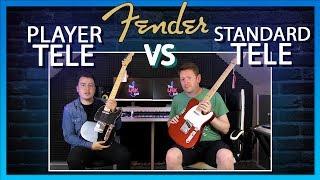 Fender Player vs Fender Standard Telecaster
