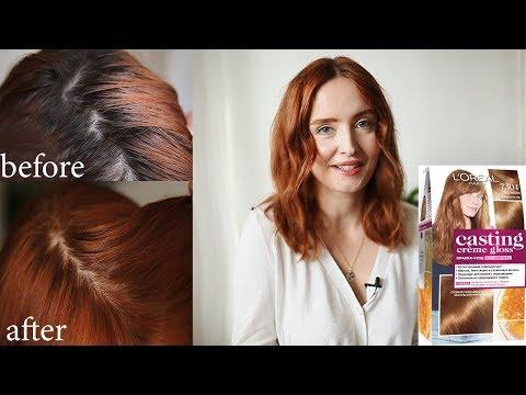 ИДЕАЛЬНЫЙ цвет! L'Oréal Paris Casting Crème Gloss 7304/734