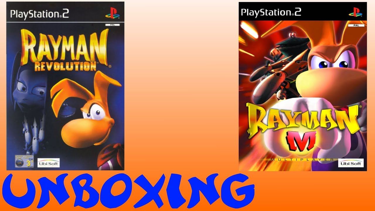 Ocg Unboxing Rayman Revolution M Youtube Switch Legends English Pal Games