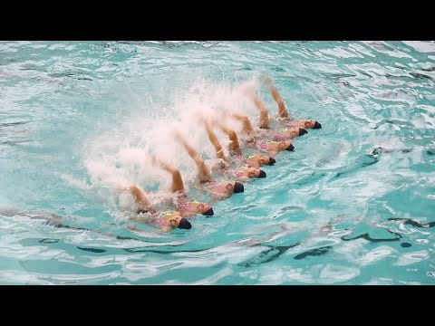 Олимпийская надежда Украины: синхронистки показали номера, которые они повезут в Рио